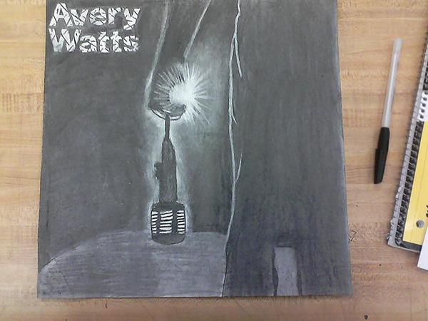 Avery Watts Fan Art - Enough Cover by Kalan Vanatta